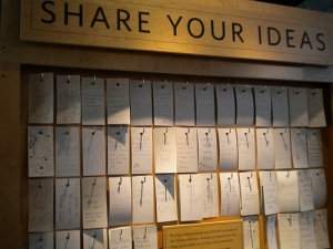 """Share your ideas"" by Britta Bohlinger from flickr"